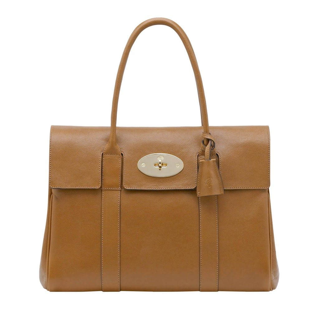 By Going Ever So Slightly Mad And Treating Herself To A Very Special Handbag From British Design House Mulberry Bayswater