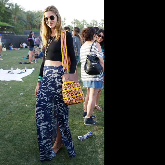 c90ba2179a It's refreshing to see some stylish festival wear that doesn't involve the  predictable go-to outfit of denim hot pants, fringing and bikini tops.