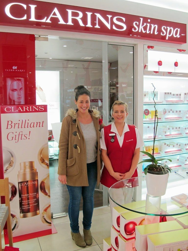 Beauty busters clarins skin spa at debenhams the daydreamer for Clarins salon