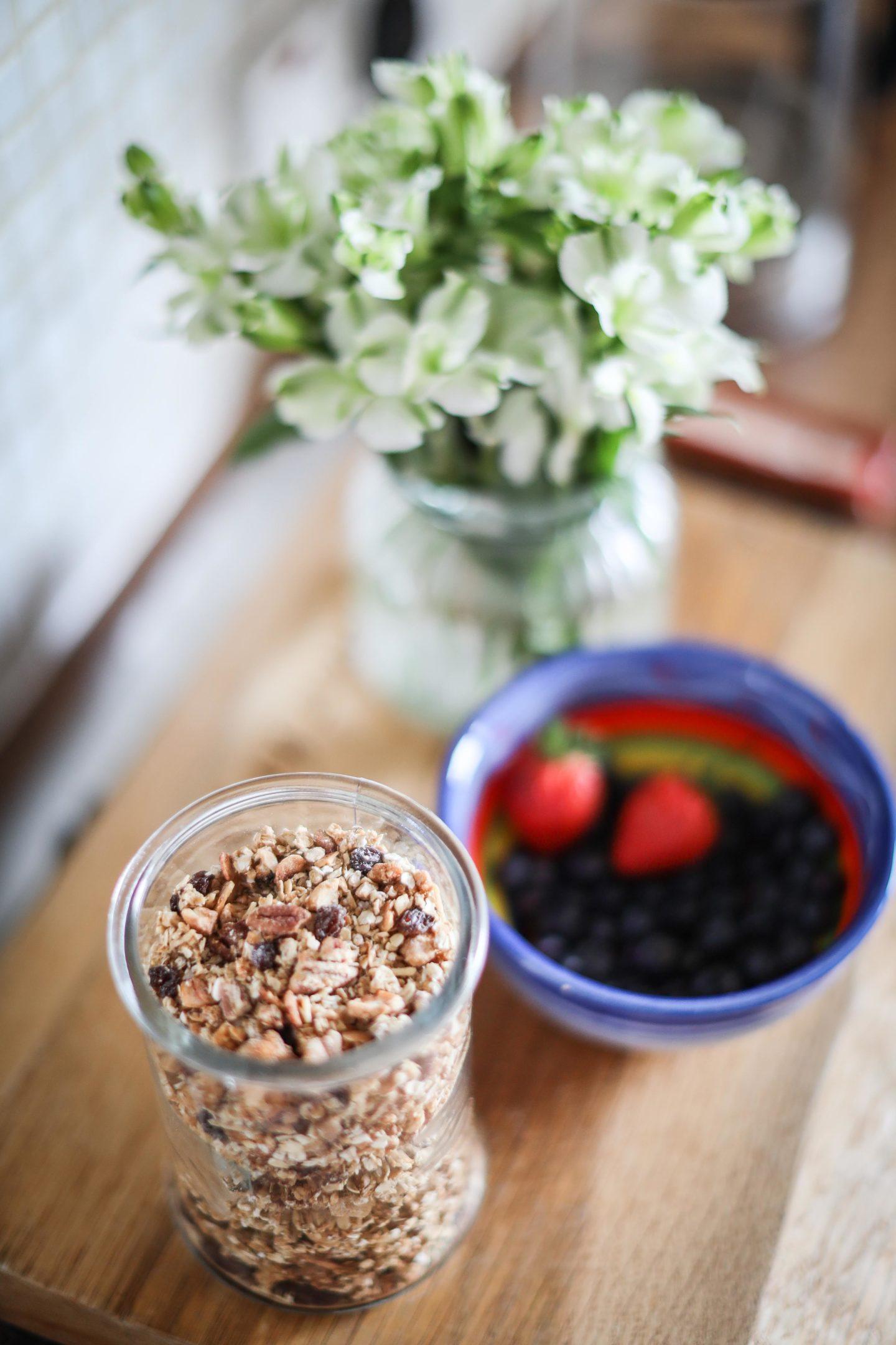 Homemade granola – The Daydreamer